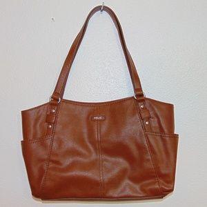 Relic Cognac Handbag